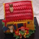 pippi langkous villa kakelbont taart