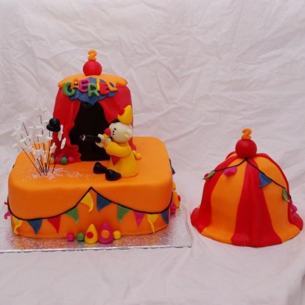 Bumba Bumbalu taart met bijpassend meppertje