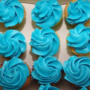 spiderman mini cupcakes
