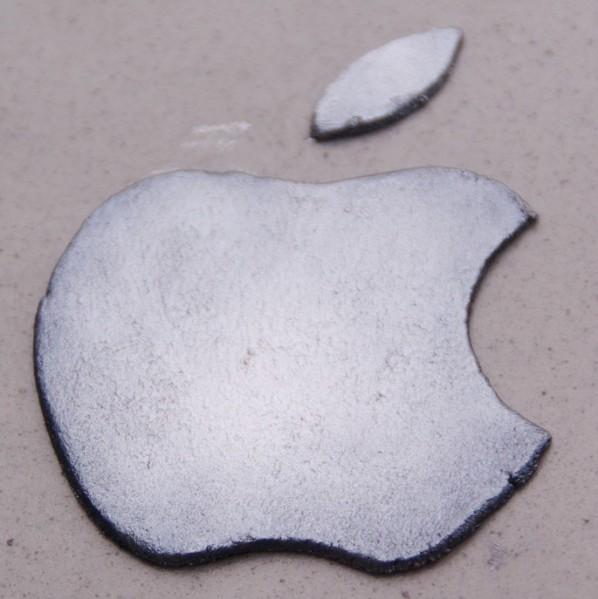 apple macbook taart