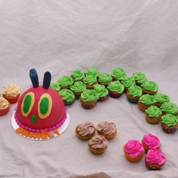 rupsje nooitgenoeg cupcakes