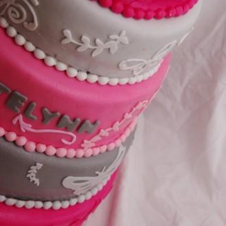 geboortekaartje taart
