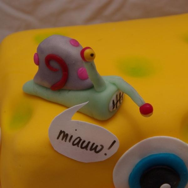spongebob taart