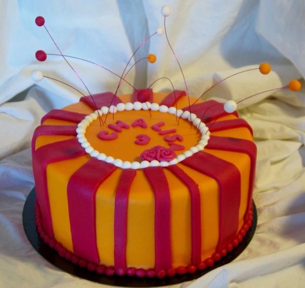 vrolijke taart