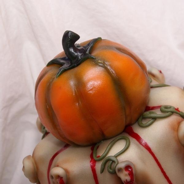 halloween stapeltaart