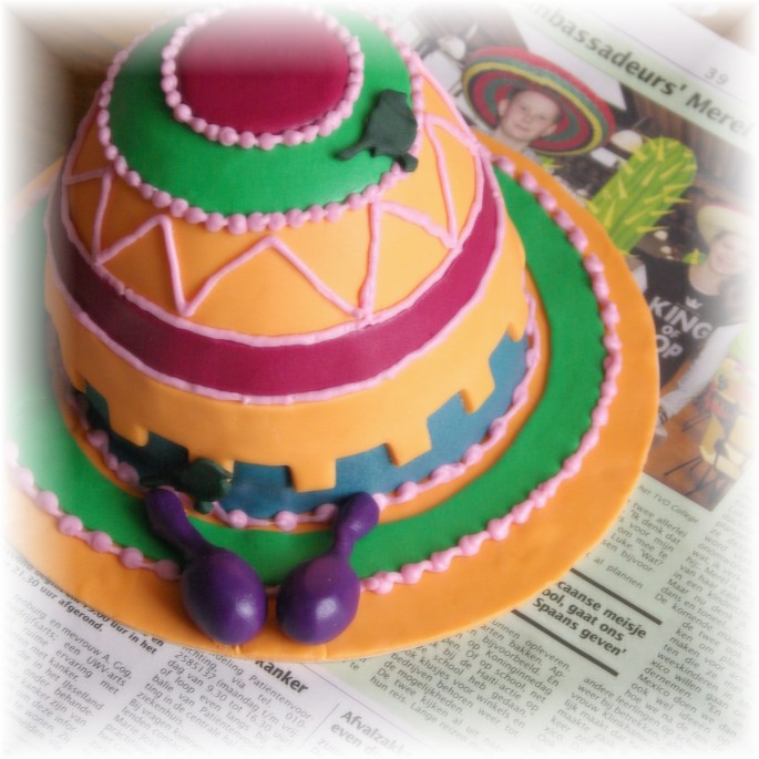 mexican hat cake