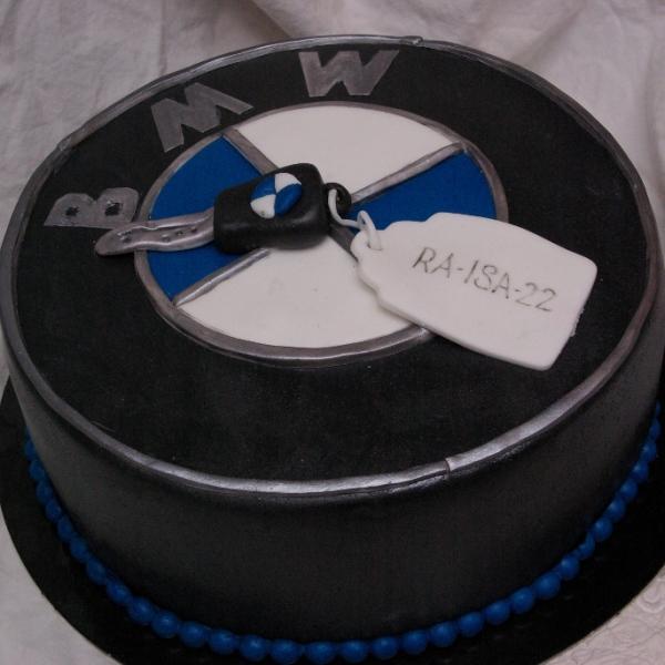 bmw taart
