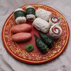 sushi taart (cakebons/marsepein) TAART & kUNST rotterdam nesselande