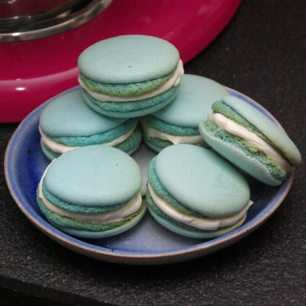 macarons met marshmellowcreme