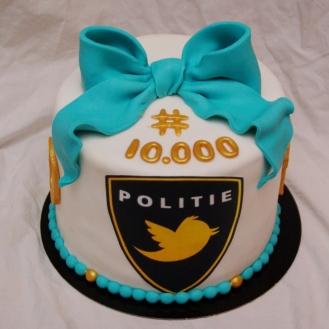 politie rotterdam rijnmond twitter taart