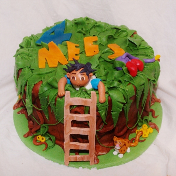 go diego jungle taart