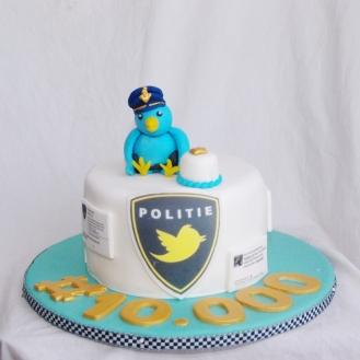 zakelijke taart politie rotterdam rijnmond