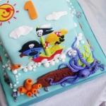 woezel en pip piraten taart
