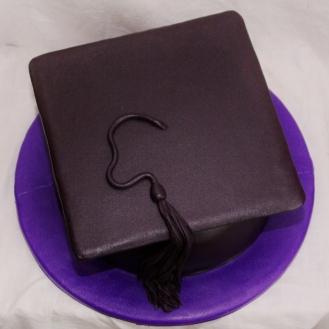 afstudeer taart