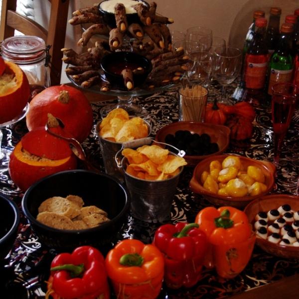 "Halloween ""Sugar & Spice table"" (geen Sweet Table)"