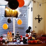 SUGAR & SPICE table met thema Halloween