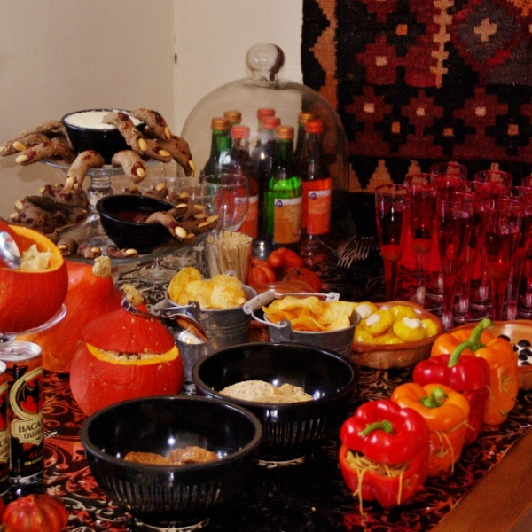 "Halloween ""Sugar & Spice table"" (geen Sweet Table)"