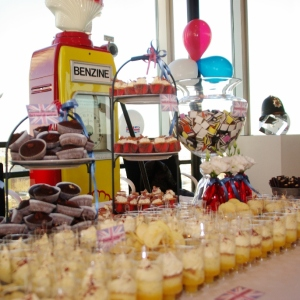 sweet table UK-day bij Shell