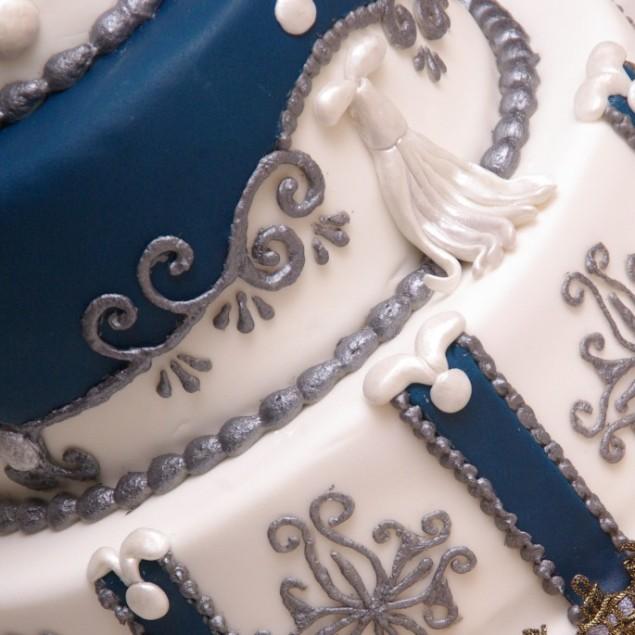 weddingcake inspired by margaret braun www.margaretbraun.com