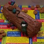sinterklaas buche boomstammetje taart