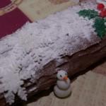 bûche de noël thema kerst