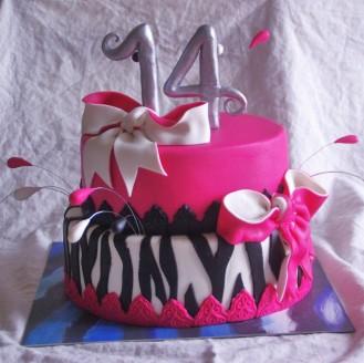 zebra pink cake strikken taart rotterdam nesselande taart bestellen online taart cupcakes gebak bonbons