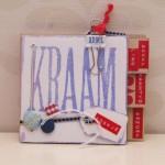 kraamboekje scrap voor aantekeningen in de kraamtijd origineel kraamkado