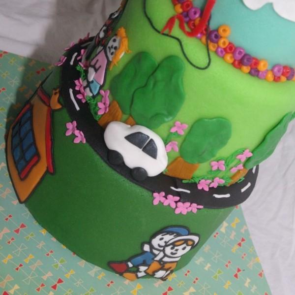 wedstrijd taart thema verkeer taartwedstrijd rotterdam nesselande kinderen veilig naar school gesponsord door mjam taart, cakesinthecity en kookpunt rotterdam