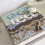 kunst altered objects mixed media comfy cosy taartenkunst handgemaakt scrap