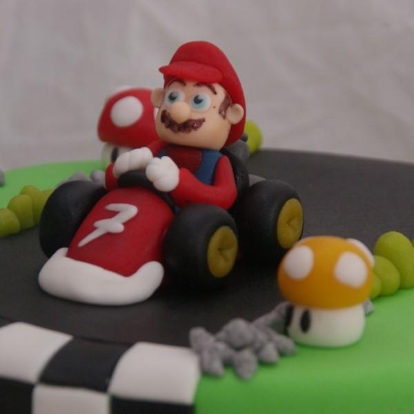super mario bros kart taart