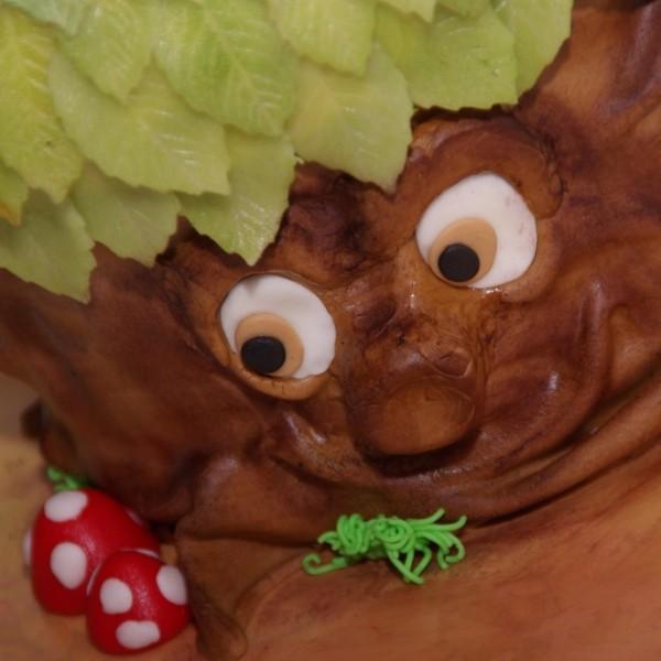 sprookjesboom taart