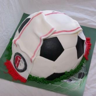 Feyenoord sjaaltje op voetbal taart bestellen rotterdam nesselande