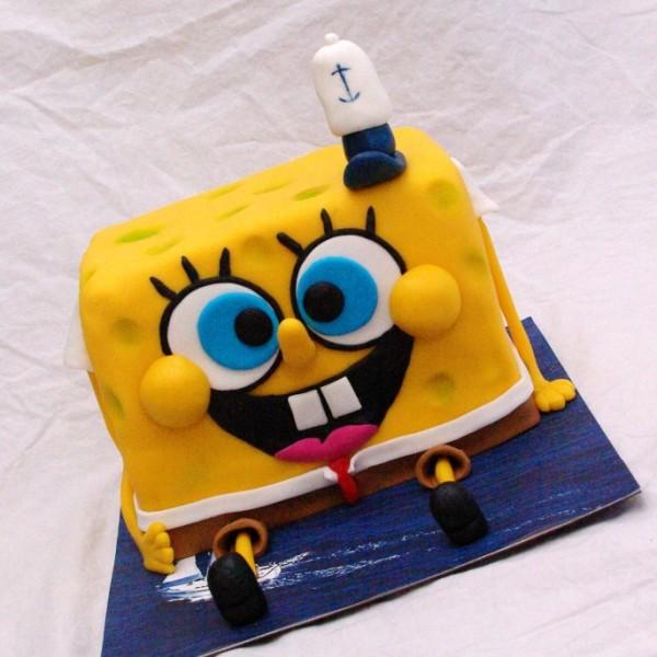 spongebob squarepants taart bestellen rotterdam nesselande