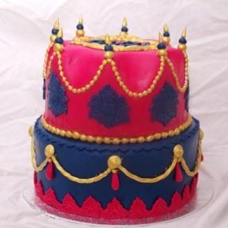 barok 1001 nacht arabische sprookjes taart