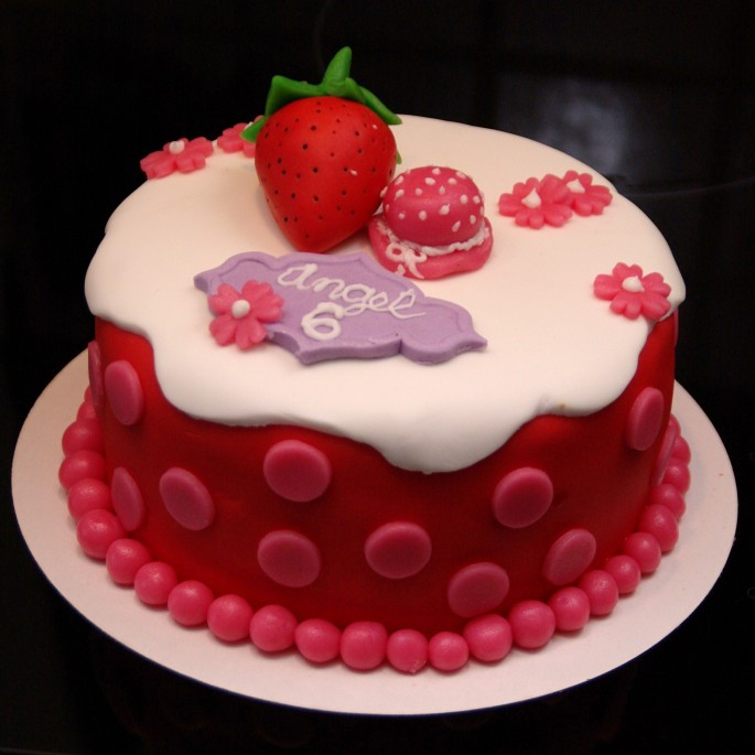 strawberry shortcake taart
