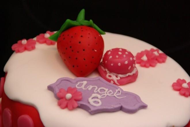 strawberry shortcake taart