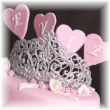 tiara van royal icing