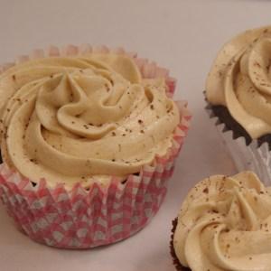 chocolate mudcake cupcake mocca swirl