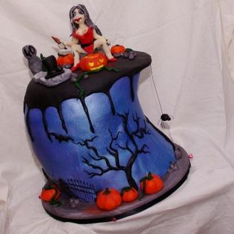 sexy Halloween taart