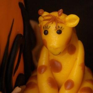 giraffe heksen taart