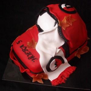 Feyenoord rugzak taart