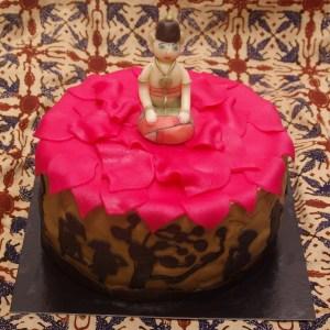 buddha taart