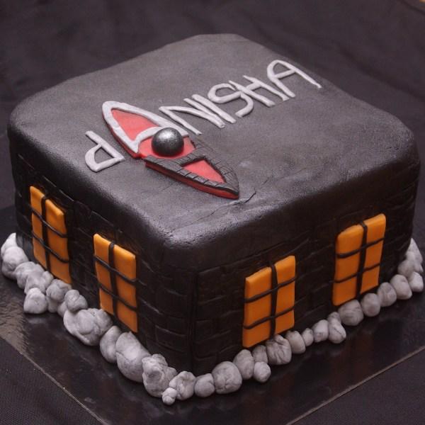 het huis anubis taart