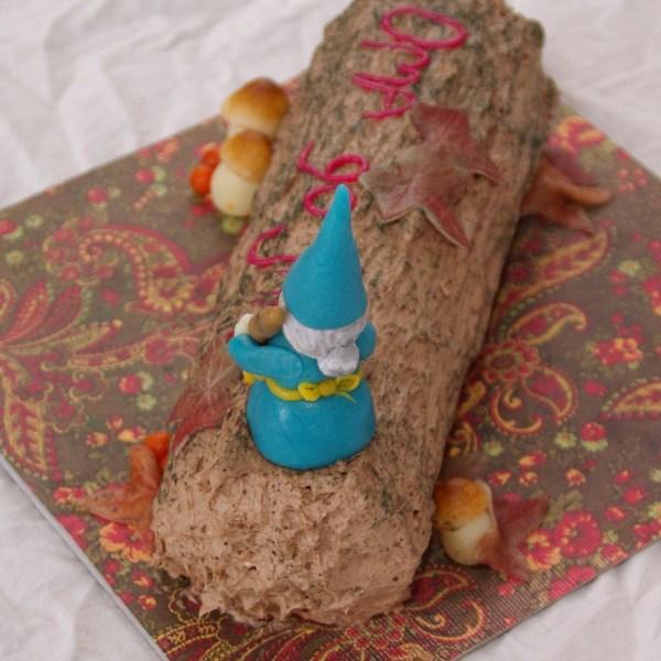 bûche de noël, kerstboomstam, buusj, yule log, eindejaarsactie taartenkunst