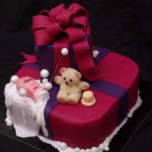 taart met robijn wasverzachter en robijntje beertje robijn huwelijk