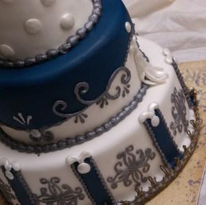 details bruidstaart geinspireerd op margaret braun