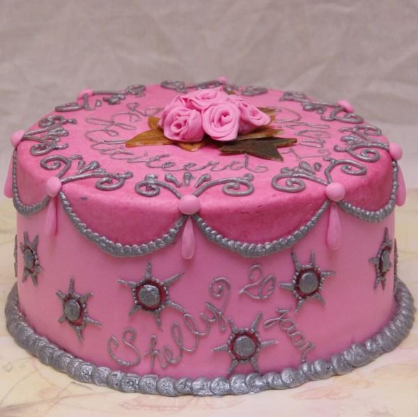pink cake inspired by margaret braun