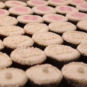 cupcakes voor especially 2 day voor op de weddingfair