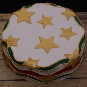 surinaamse taart kleuren van de surinaamse vlag