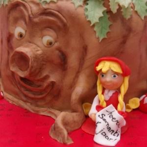 sprookjesboom efteling taart sprookjesboom roodkapje